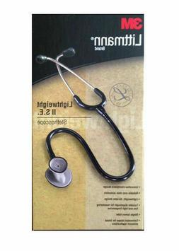 3M Littmann Lightweight II S.E. Stethoscope Black tube 28 in