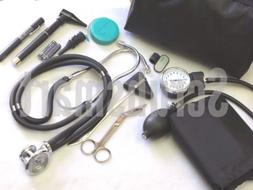 Nurse Student starter Kit #6- Purple Stethoscope BP Cuff +mo