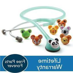 ADC Adscope 618 Adimals Pediatric 22'' stethoscope Seafoam