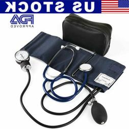 Lotfancy Manual Blood Pressure Monitor Aneroid Sphygmomanome