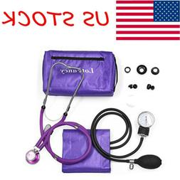 Aneroid Sphygmomanometer Stethoscope Machine Blood Pressure