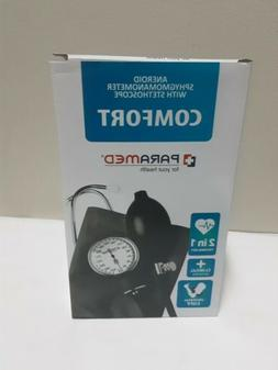 aneroid sphygmomanometer with stethoscope kit blood pressure