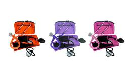 Dixie Ems Blood Pressure and Sprague Stethoscope Kit: Pink