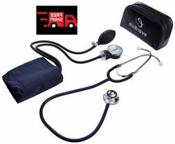 Dixie Ems Blood Pressure Cuff With Dual Head Stethoscope Kit