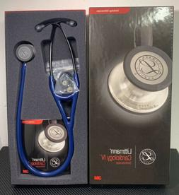 3m LITTMANN CARDIOLOGY IV Stethoscope *NAVY/BLACK finish* #6
