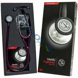 3m LITTMANN CARDIOLOGY IV Stethoscope *PLUM/SMOKE finish* #6