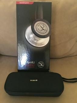 NEW 3m  Littmann CARDIOLOGY IV - BLACK w/RAINBOW - Stethosco