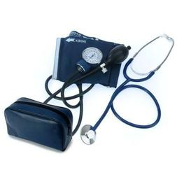 Classic Blood Pressure Kit with D-Ring Cuff, Large Adult, Ea