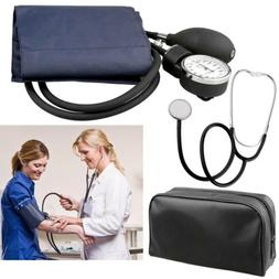 Cuff Sphygmomanometer Blood Pressure Medical Kit+Stethoscope