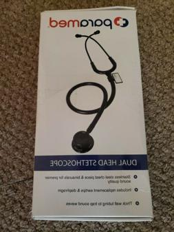 Paramed Dual Head Cardiology Stethoscope - Stainless Steel -