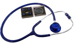 BV Medical Dual Head Stethoscope, Deluxe-Lite, Adult, Latex