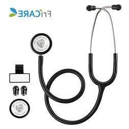 Dual Head Stethoscope for Medical and Home by FriCARE, Class