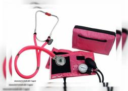 EMI ALL PINK SET Sprague Rappaport Stethoscope and Aneroid S