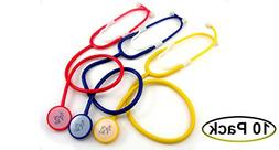 EMI Disposable Stethoscopes 10 Pack - Yellow