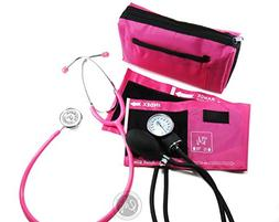 EMI #305 PINK Aneroid Sphygmomanometer Manual Blood Pressure