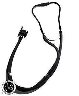 EMI Sprague Rappaport Dual Head Stethoscope - STEALTH BLACK