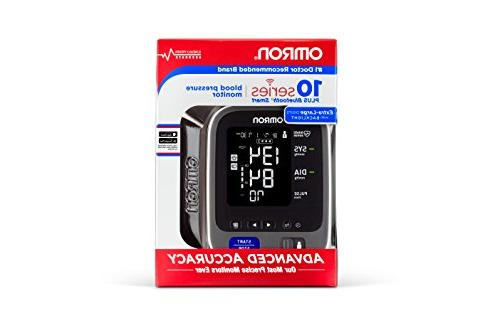 Omron Series Bluetooth Arm Blood Pressure Monitor with User - with Alexa