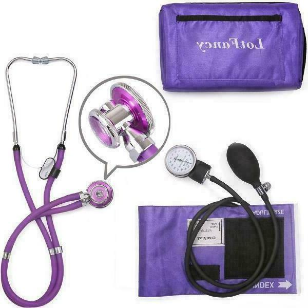 aneroid sphygmomanometer and stethoscope kit by manual