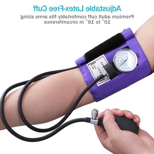 Aneroid Sphygmomanometer and Kit, LotFancy Blood Pressure and