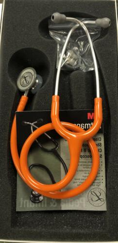 3M Littmann Classic II Pediatric Stethoscope, Orange