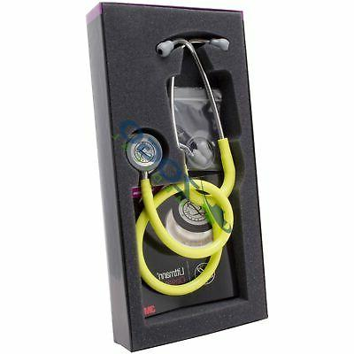 "3m LITTMANN Classic III Stethoscope *LEMON-LIME* 27"" Littman"