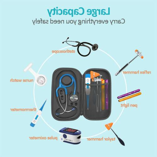 Storage Travel Carry with DIVIDER Littmann Stethoscope&Accessories