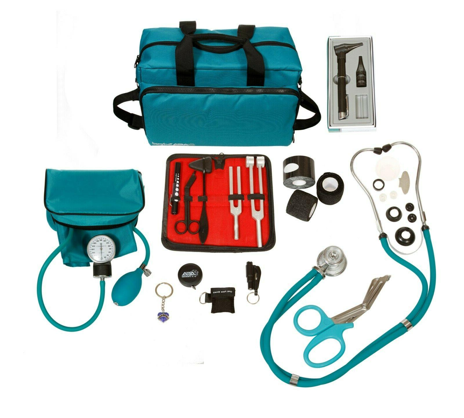 Nurse Kit Stethoscope Blood Pressure Monitor More Pieces Total