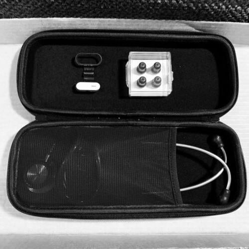 Professional Cardiology Stethoscope Black, With Case Accessories