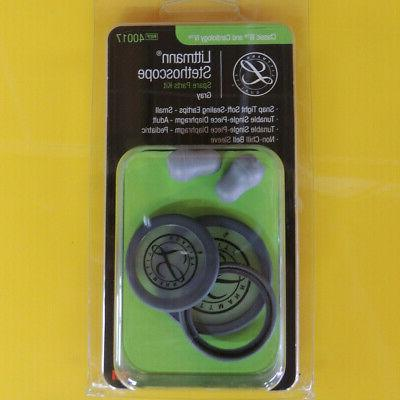 3M Littmann Stethoscope Spare Parts Kit, Classic III, Grey,
