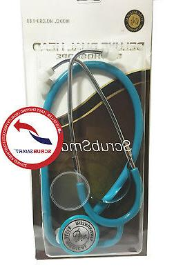 US Seller New Dual Head Stethoscope Fast Ship Color: Teal