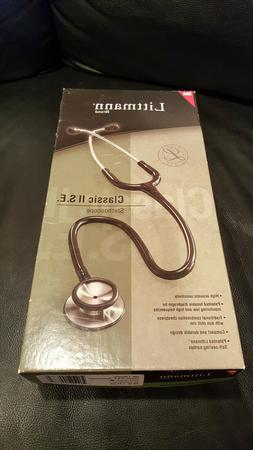3M Littmann Lightweight II S.E. Stethoscope, Black Tube, 28