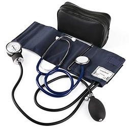 LotFancy Manual Blood Pressure Cuff, Aneroid Sphygmomanomete