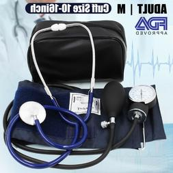Manual Blood Pressure Monitor BP Cuff Aneroid Sphygmomanomet