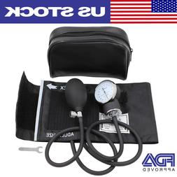 Manual Blood Pressure Monitor Upper Arm BP Cuff Aneroid Sphy