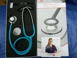 Medical Clinical Lite Stethoscope *Model121 Neon Blue*