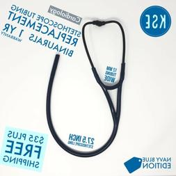 Navy blue Stethoscope Binaurals replacement tubing 12mm by K