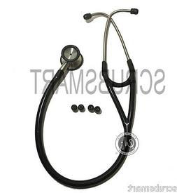 NEW BLACK Cardiology Stethoscope Medical Professionals Nurse