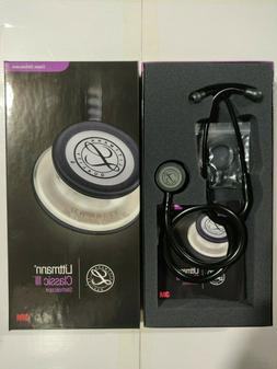 "NEW IN BOX 3M Littmann Classic III 27"" Stethoscope, ALL BL"