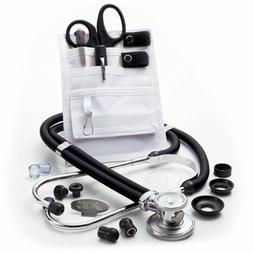 ADC Nurse Combo Plus Adscope 641 Sprague Stethoscope and Poc