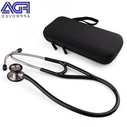 LotFancy Nurse Medical Clinical Double Dual Head Stethoscope