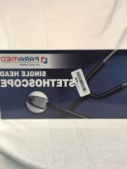 OPENED BOX PARAMED CLASSIC SINGLE HEAD STETHOSCOPE FOR MEDIC