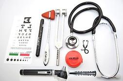 TAXXAN Otoscope, Stethoscope, Taylor Hammer, Tuning Fork, Pe