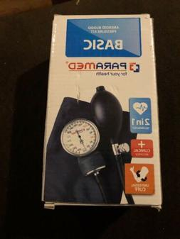 Paramed Pro Aneroid Blood Pressure Kit With Stethoscope RC