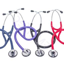 Professional Cardiology Stethoscope BLACK,BLUE,PURPLE,RED 14