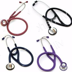 professional cardiology stethoscope dual head with diaphragm