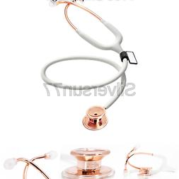 MDF Rose Gold MD One Stainless Steel Premium Dual Head Steth
