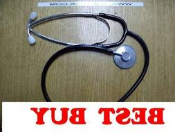 Single Head Nurse's Stethoscope- Black tubing. New York SELL