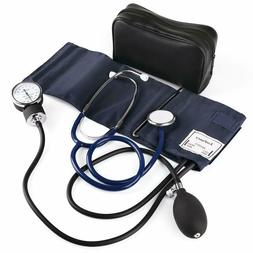 Aneroid Sphygmomanometer Stethoscope and Blood Pressure Kit