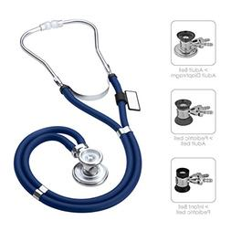 MDF  Sprague Rappaport Dual Head Stethoscope with Adult, Ped