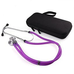 Sprague Rappaport Stethoscope by Lotfancy, Dual Head Diaphra
